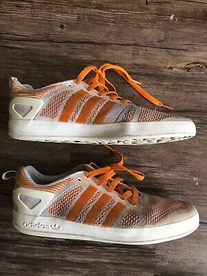 buy online 2ca2c d7b6d Adidas Palace Pro Primkenit Men s US Size 8.5 Orange White Rare Running  Shoes