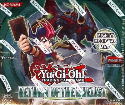 Yugioh Return Of The Duelist 1St Edition Booster Box 24Ct Packs