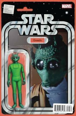 Star Wars #12 MARVEL COMICS John Tyler Christopher Action Figure Variant Greedo