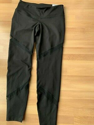 72b06bafc8 NWT Old Navy Mid-Rise Mesh-Panel Elevate Compression Leggings for Women (MP
