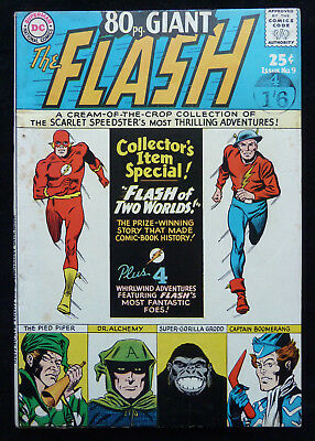 80 PAGE GIANT #9 - THE FLASH - DC Comics - April 1965 - VF- 7.5