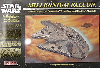 FineMolds Star Wars 1/72 Han Solo Millenium Falcon Plastic Model Kit