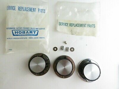 Hobart 351422 Lot Of 3 Replacement Knobs 345474-3