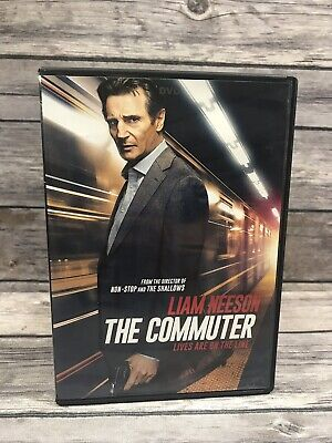 The Commuter (DVD, 2018) Liam Neeson Action Movie
