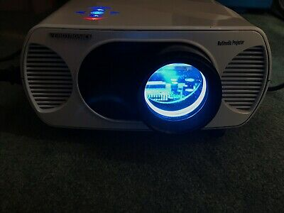 LCD Multimedia Projector Model T7058 Tested Works