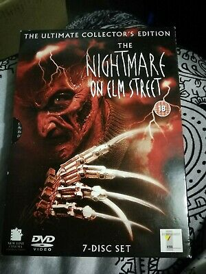 The collection nightmare on elm Street dvd set