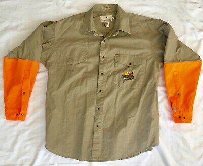 30817df1c747b Browning Pheasants Forever Super Naturals Upland Hunting Blaze Shirt XL