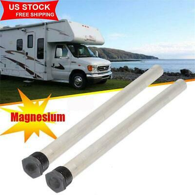 2x Water Heater 9.25'' Magnesium Anode Rod for Suburban 232767 RV Camper Trailer