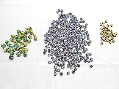 Glass Beads, 300+, Varied Colors As Pictured