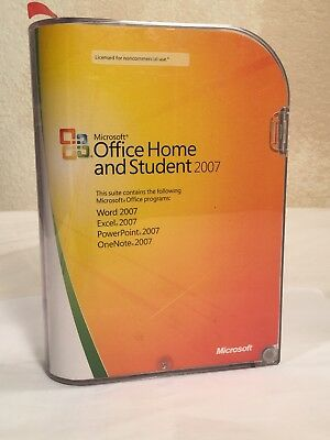 Microsoft MS Office 2007 Home and Student for 3 PC's