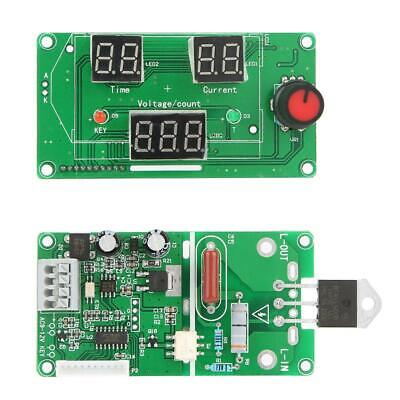 100A/40A LCD Double Pulse Encoder Spot Welder Machine Time Control Board Module