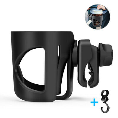 1Pc Universal Baby Stroller Cup Holder 360 Degree Rotation for Baby Strollers