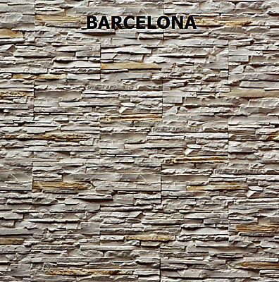 SAMPLE of your choice - Stacked Stone Panels, Split Face Stone Panels,
