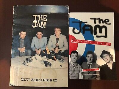 The Jam Beat Surrender'82 Farewell Program Promotion from Carnaby Street 1982