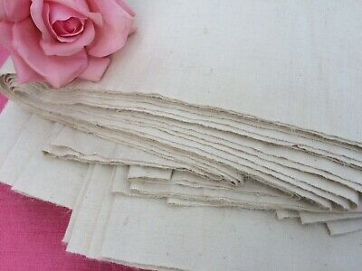 BOLT UNUSED VINTAGE FRENCH LINEN METIS 10 M LONG x 1.10 CM WIDE EXC OVER 10 YARD