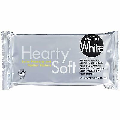 PADICO Hearty Soft White Air Drying Modeling Paper Craft Clay - 200g  s7082