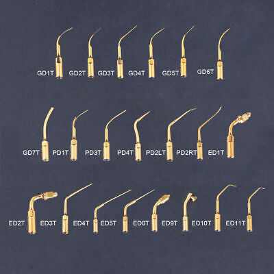 21 Types Dental Ultrasonic Endodontic Scaler Tips Fit For DTE/SATELEC Handpiece
