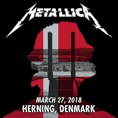 METALLICA / WorldWired Tour /Jyske Bank Boxen, Herning, Denmark / March 27, 2018