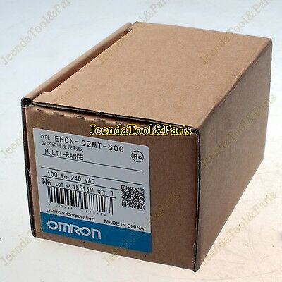 New Omron Temperature Controller E5CN-Q2MT-500 AC100-240