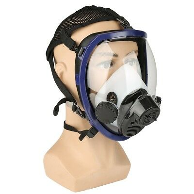 Air Fed Supplied Gas Mask System Full Face Facepiece Respirator Spraying Welding