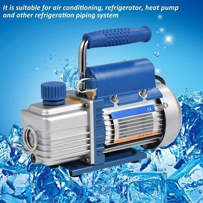 220V 150W Vacuum Pump Kit for Air Conditioning/Refrigerator+Pressure Gauge+Tube