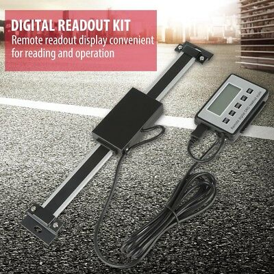 150 MM 6'' Digital Readout linear scale DRO Magnetic Remote External