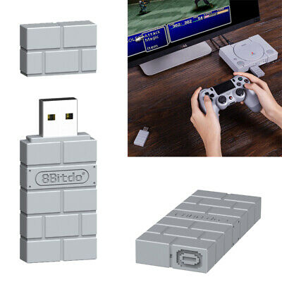 8Bitdo USB Wireless Bluetooth Receiver Adapter for Nintendo Switch/Windows/Mac