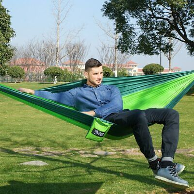 Outdoor double Hammock Portable Parachute Cloth 2 Person hamaca hamak rede