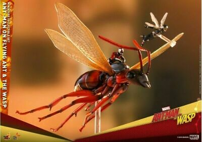 Hot Toys MMSC004 Flying Ant-Man and the Wasp Mini Action Figure Set With Stand
