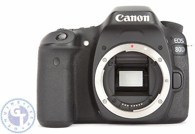 Canon EOS 80D 24.2MP Digital SLR Camera (Body Only)