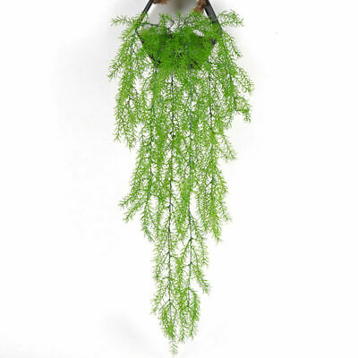 Home Wedding Decor Party 3 Fork Artificial Pine Needles Fake Wall Hanging Plants