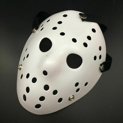 1x Jason Voorhees Friday the 13th Horror Movie Hockey Mask Scary Halloween Mask