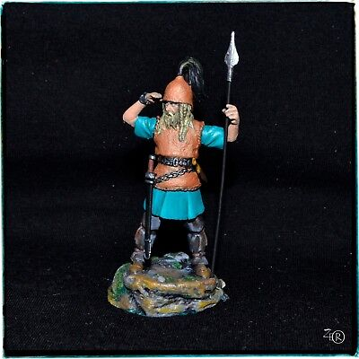 Figurine 54 mm, Celtic Warrior 5th cent. BC, Hand Painted, MMA Miniatures
