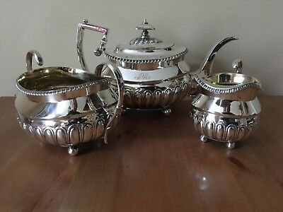 Georgian, George III, Scottish silver tea service. Edinburgh 1811 James McKay.