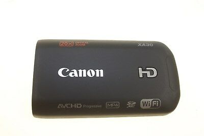 Canon Digital Camcorder Xa30 Lcd Top Cover Unit Genuine New Df1-6253-000