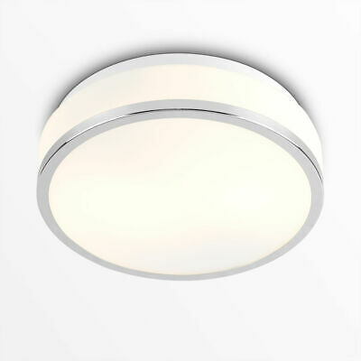 Modern IP44 Bathroom Indoor Flush Ceiling Light Lighting Home Fitting + LED Bulb