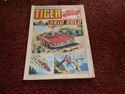 Tiger And Jag  Vintage Comic 23rd August 1969