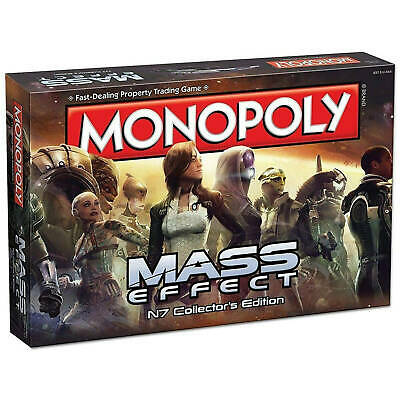 Monopoly Mass Effect N7 Collectors Edition Board Game by Winning Moves