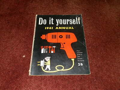 Vintage Do It Yourself Annual 1961...VERY NICE CONDITION..FREE SHIPPING UK