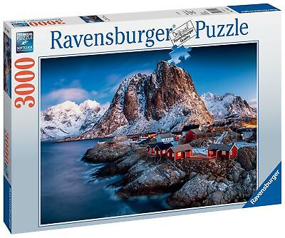 17081 Ravensburger Lofoten, Norway 3000 Piece Jigsaw Puzzle Age 12 Years+