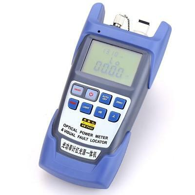 All-IN-ONE Fiber Optical Power Meter -70~ +10dbm 10km Fiber Optical Cable Tester