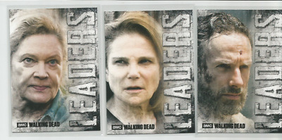 2018 Topps Amc Walking Dead Hunter's & The Hunted:leaders-Lot Of Seven (7)
