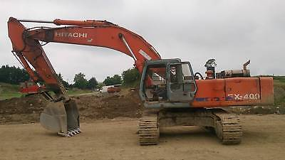Hitachi Ex400-1 Excavator Digger Parts Manual On Cd And Download