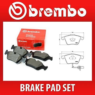 Brembo Front Brake Pad Set (2 Wheels on 1 Axle) P 85 097 / P85097 - Fits AUDI