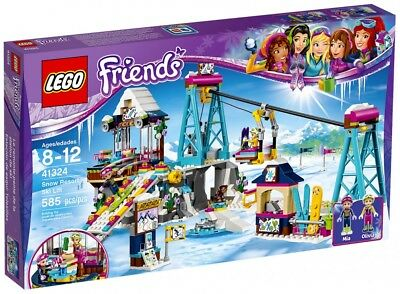 Lego - Friends - 41324 - La Station De Ski
