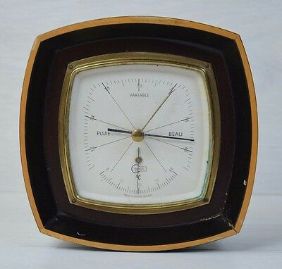 Vintage West Germany VARIABLE Barometer BARIGO Humidity Weather Thermometer Rare