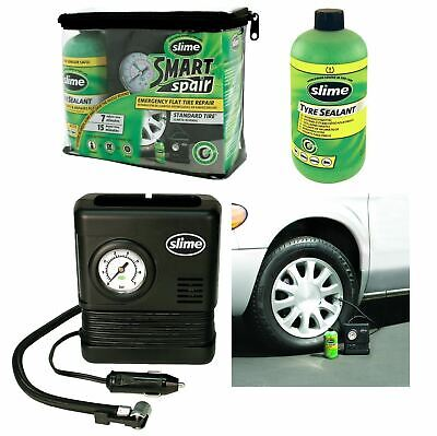 Smart Emergency Flat Tyre Repair Pucture Pump Compressor & Sealant Kit for Audi