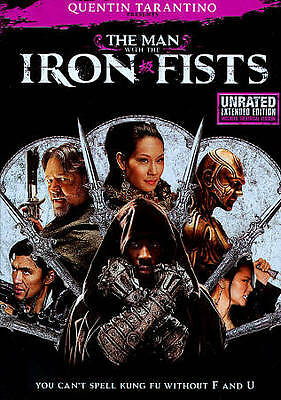 The Man With the Iron Fists (DVD, 2013, Unrated) Disc Only  39-31