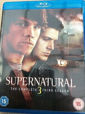supernatural the complete 3 third season blu ray