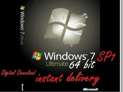Windows 7 ULTIMATE 64 BIT iso no key (download only)